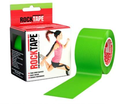 RockTape Кинезиотейп Classic 5см x 5м (Лайм-зеленый)