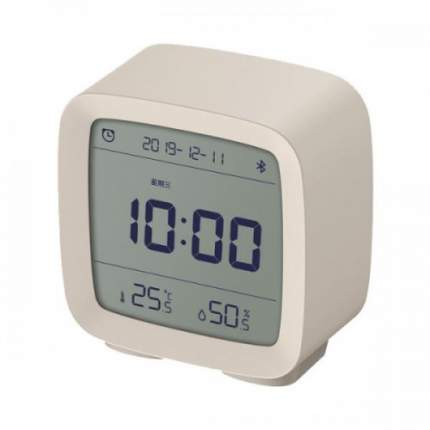 Умный будильник Xiaomi Qingping Bluetooth Alarm Clock Бежевый
