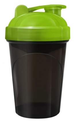 Be First Шейкер спортивный без логотипа (Черно-зеленый, 500 мл, TS-1327-Green-Nl)