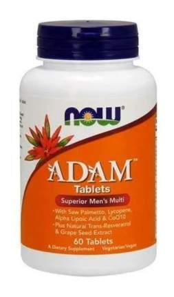 NOW ADAM Tablets (60 таблеток)