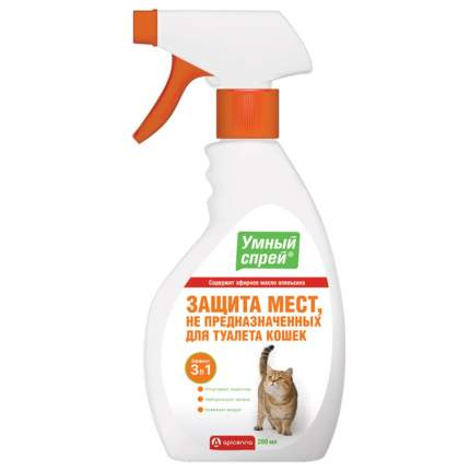 Спрей для защиты мест не предназначенных для туалета кошек Api-San Умный Спрей, 200 мл