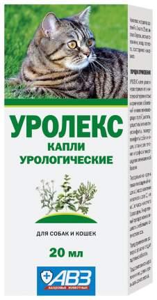 Капли урологические АВЗ Уролекс для кошек 20 мл