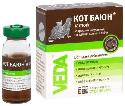 Кот Баюн VEDA для кошек и собак, настой 10 мл фл. 3 шт