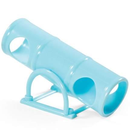 Туннель для грызунов Triol качели, пластик, голубой 6х7х16.5см