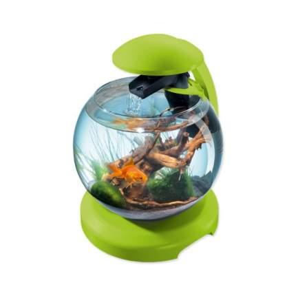 Нано-аквариум для рыб Tetra Cascade Globe, LED светильник, зеленый, 6.8 л