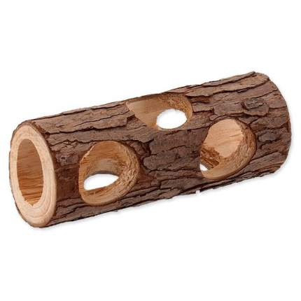 Туннель для грызунов Small Animals дерево, коричневый 5х5х15см