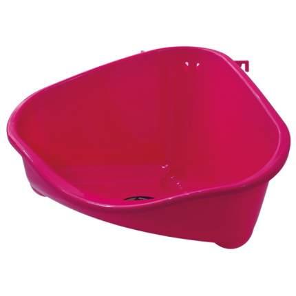 Туалет пластиковый угловой для грызунов 35*23,4*19,4 см
