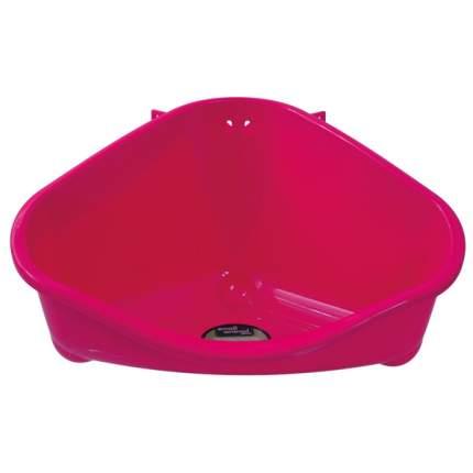 Туалет пластиковый угловой для грызунов Small Animals 35*23,4*19,4 см