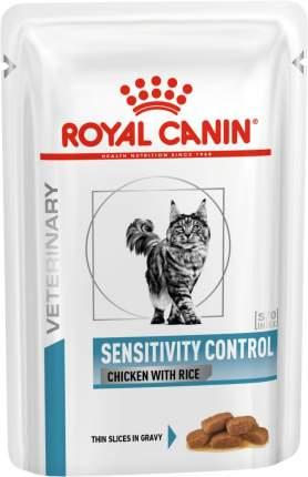 Влажный корм для кошек ROYAL CANIN Sensitivity Control, цыпленок, рис, 85г