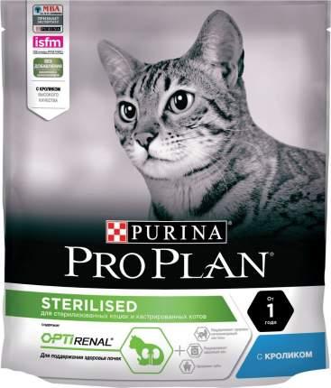 Сухой корм Pro Plan Sterilised Optirenal для стерилизованных, с кроликом,  400 г