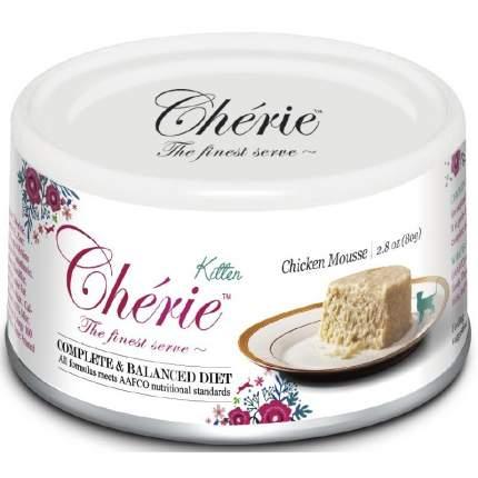 Консервы для котят Pettric Cherie Kitten, мусс из курицы, 80г