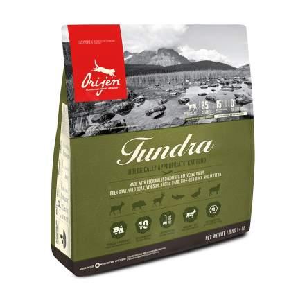 Сухой корм для кошек Orijen Tundra, беззерновой, мясо, 1.8кг