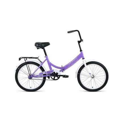 """Велосипед Altair City 20 2020 14"""" фиолетовый/серый"""