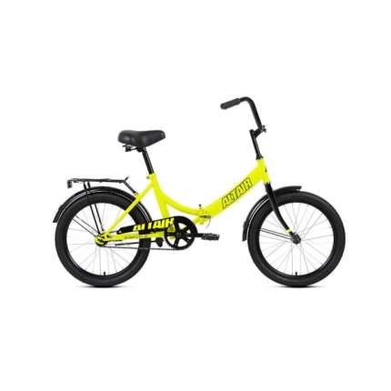 """Велосипед Altair City 20 2020 14"""" светло-зеленый/черный"""