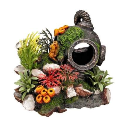 Декорация для аквариума Nobby Шлем водолаза, пластик, 13,5х11х12 см