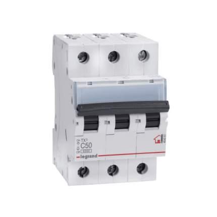 """Выключатель автоматический модульный """"TX3"""", 3 п, 3 м, 50 А, 6 кА, АС, арт. 404061"""