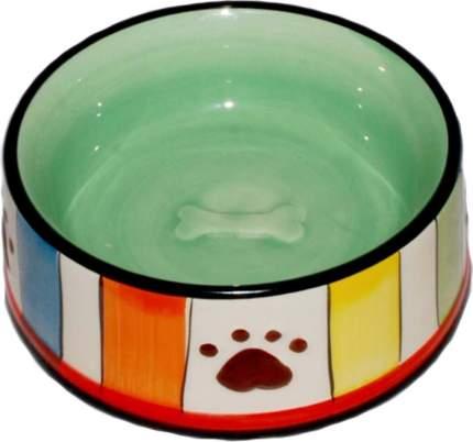 миска керамическая с лапками 12,5*5 см