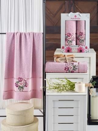 Полотенце Oran Merzuka Mavreena Цвет: Светло-Розовый (50х90 см,70х140 см)