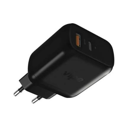 Сетевое зарядное устройство Vipe Travel Station XS 18W  Black