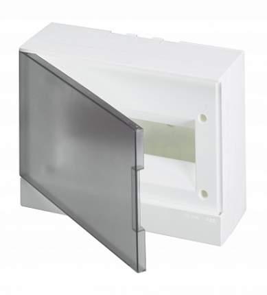 Бокс настенный Basic E 12М, серый, прозрачная дверь (с клеммным блоком)