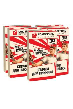 Спички туристические Союзгриль N1-F08-5 30 шт в упаковке