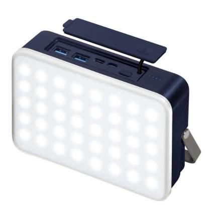 Внешний аккумулятор InterStep PB24LED 24000mAh Blue/White