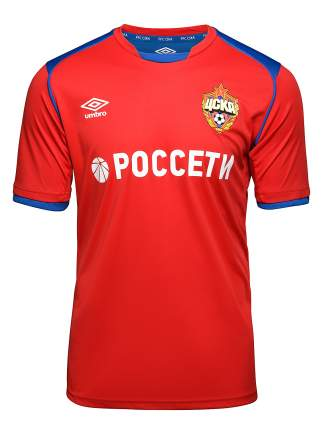 Футболка Umbro CSKA Jersey SS, красный, YL INT