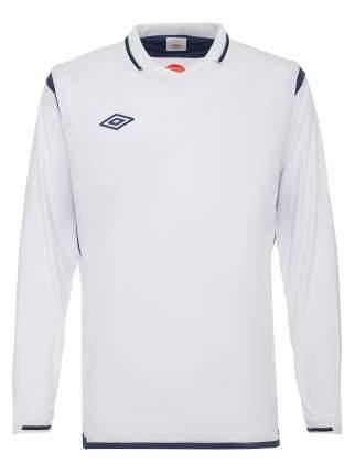 Футболка футбольная Umbro Westham Jersey L/S, белая, XL