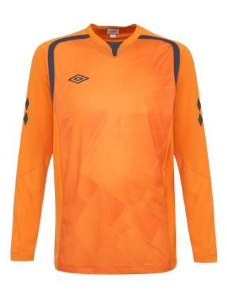 Футболка футбольная Umbro Ireland Jersey L/S, оранжевая, XL