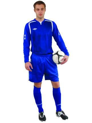 Футболка футбольная Umbro Ireland Jersey L/S, синяя, XL