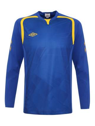Футболка Umbro Ireland Jersey L/S, синий, L INT