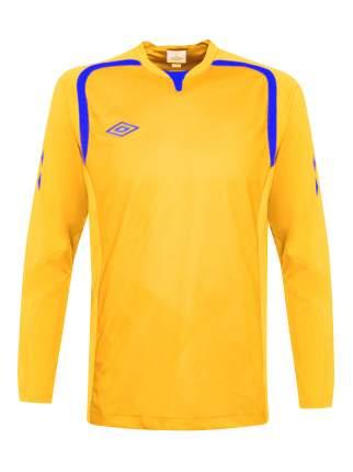 Футболка футбольная Umbro Ireland Jersey L/S, желтая, L