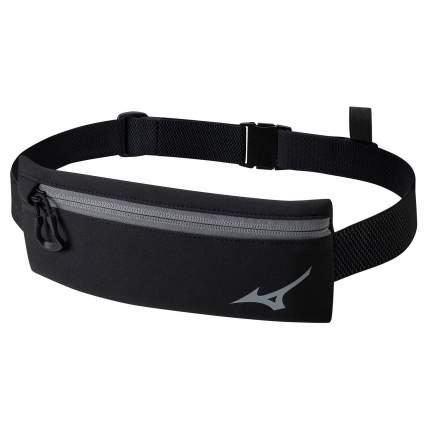 Пояс Mizuno,Running waist bag, размер NS, черный