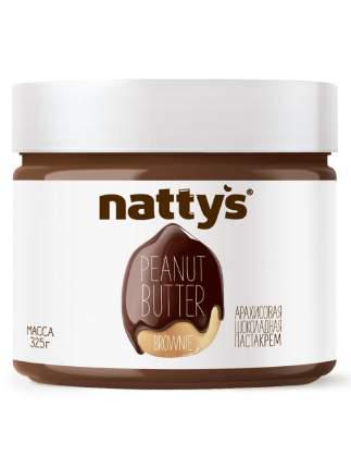 Арахисовая паста Nattys Brownie с тертым какао 325 г