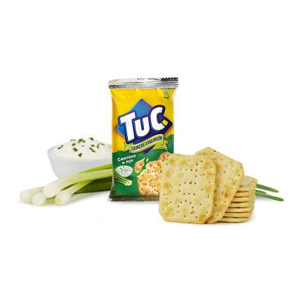 Крекер Tuc mini cо вкусом сметаны и лука 100 г