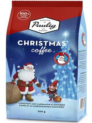 Кофе молотый Paulig Christmas с кардамоном и корицей 200г