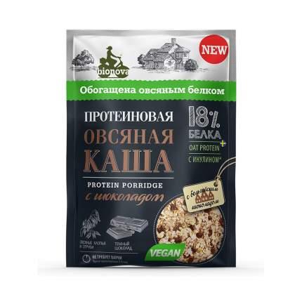 Каша Bionova овсяная протеиновая с шоколадом 40 г