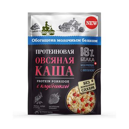Каша овсяная Bionova Протеиновая с клубникой 40 г