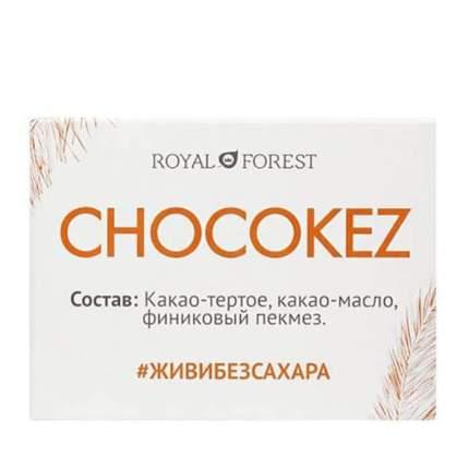 Шоколад Royal Forest Chocokez на финиковом пекмезе 30г