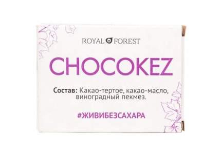 Шоколад Royal Forest Chocokez на виноградном пекмезе 30г