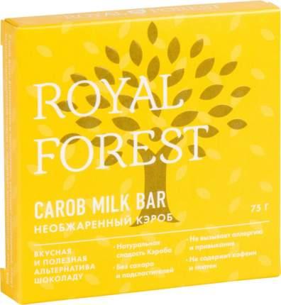 Шоколад Royal Forest Необжаренный кэроб 75г
