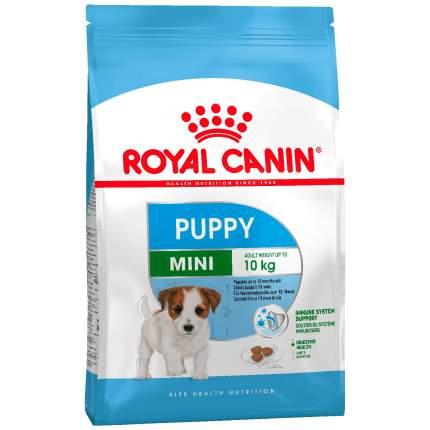 Сухой корм для щенков ROYAL CANIN Puppy Mini, птица, рис, 4кг