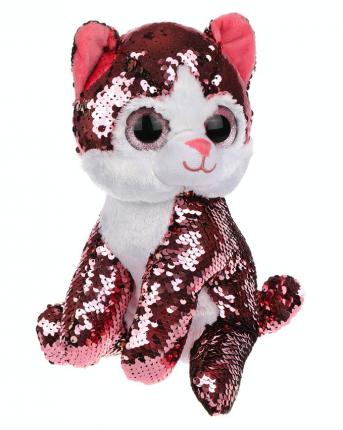 Мягкая игрушка Fluffy Family Котенок Блестяшка, 23 см