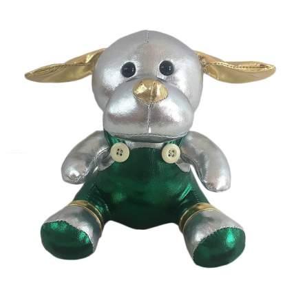 Мягкая игрушка Junfa toys Металлик Собака, 16 см