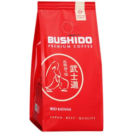 Кофе Bushido Red Katana молотый 227 г