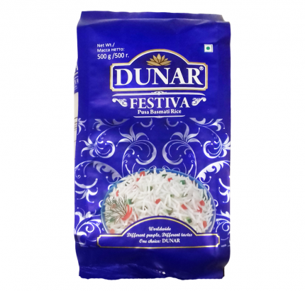 Рис Dunar Festiva 500г