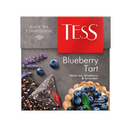 Чай черный в пирамидках Tess Blueberry Tart 20 штук