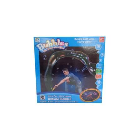 Мыльные пузыри гигантские Junfa Toys с двумя круглыми рамками, 200 мл