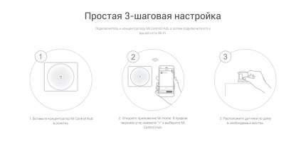 Набор датчиков Xiaomi Mi Smart Sensor Set RU EAC