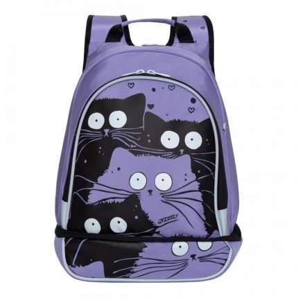 Рюкзак детский Grizzly для девочки лаванда